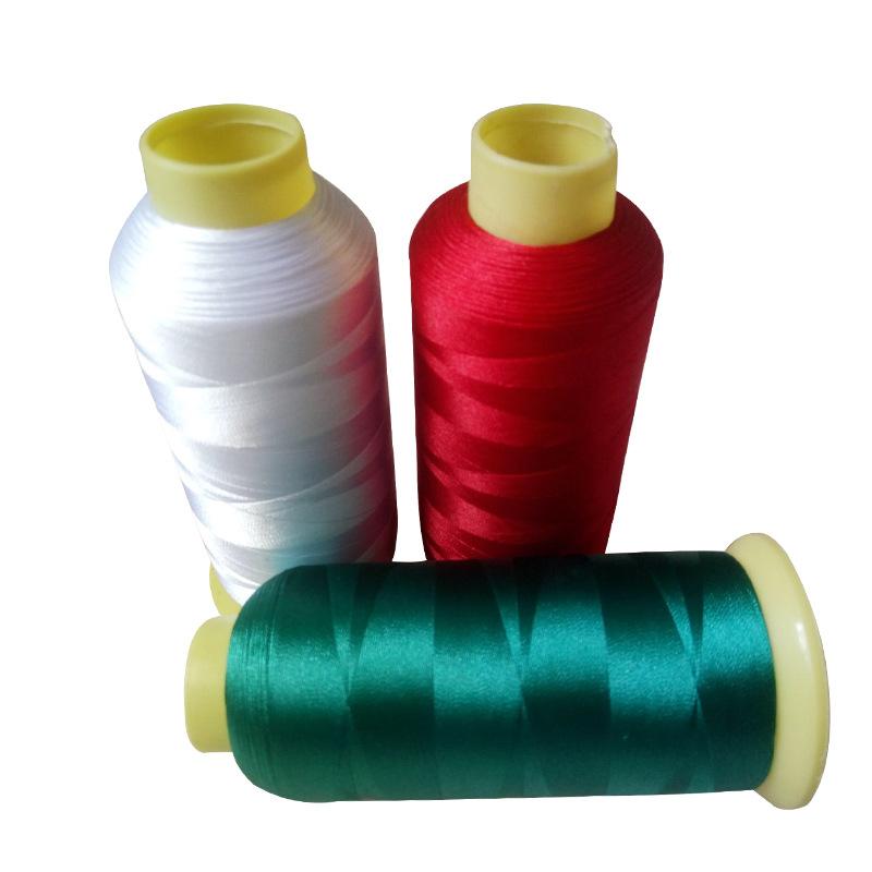 135 gam sợi hóa học sợi rayon máy tính thêu chủ đề 2 strands sợi hóa học cao lụa đàn hồi đầy màu sắc