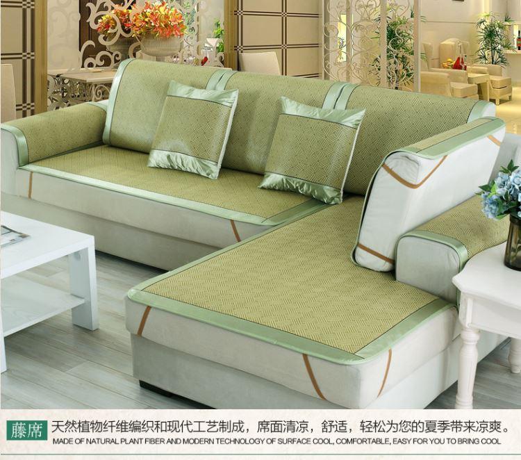 Nệm mùa hè chiếu trơn nhỉ Vine ghế đệm mùa hè lạnh giá bạc tiền khách bộ đệm ghế gỗ thật đấy