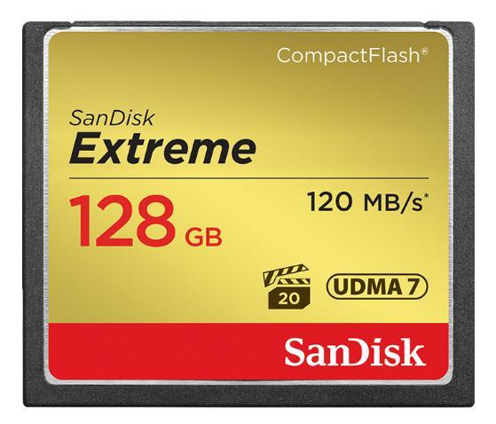 SanDisk/ Shem! CF 128G120M/s máy quay camera memory card......Chiếc siêu