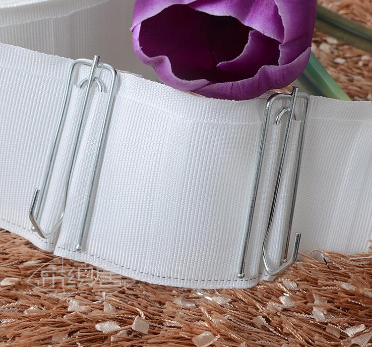 Evergreen rèm vải với bảy cm polyester bông ngã ba móc rèm vành đai tám năm đảm bảo chất lượng 1.6 k