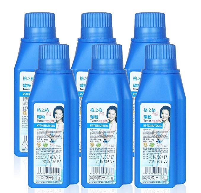 Lưới lưới G & G NT-T0388L / 0436L Màu xanh lam siêu đen mực đầy chất lượng cao 6 gói HP