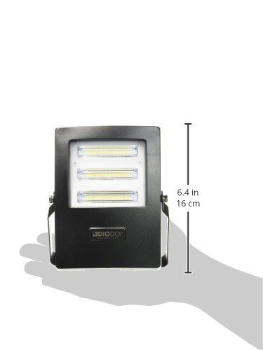 Sicily LED Flood Light Spotlight, nhôm, 20 W, đen, 4,5 x 11,5 x 15,5 cm