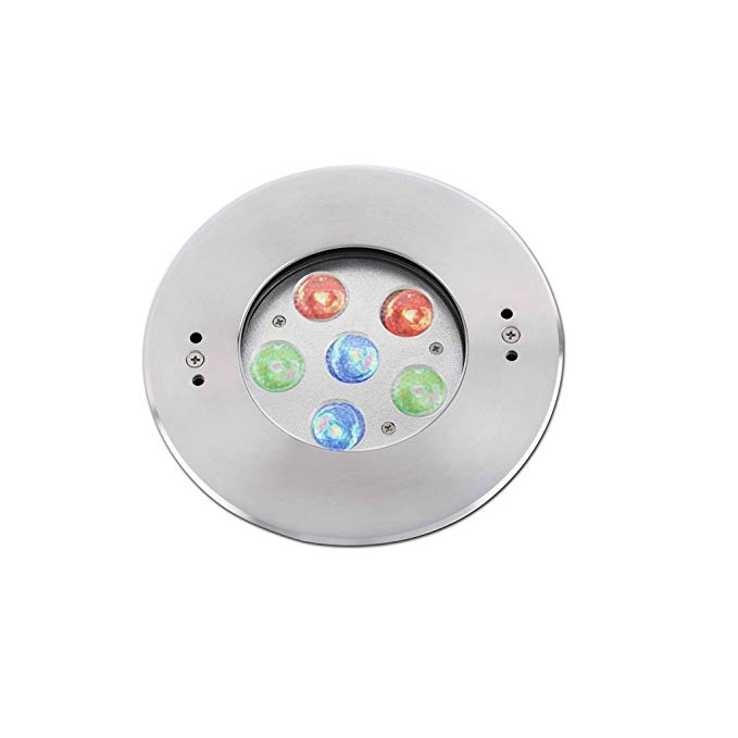 Faro Barcelona EDEL 70456 - DOCK với bóng đèn) LED 2 W phun nhôm rõ ràng kính PVC