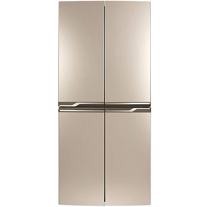 TCL BCD-398KZ50 398 lít Tủ lạnh đa cửa chéo Tủ lạnh tự động rã đông Kiểm soát nhiệt độ máy tính Đôi