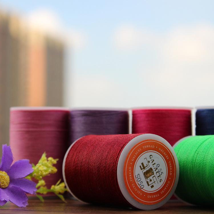 Yule thương hiệu DIY mới khối lượng nhỏ tay-khâu wax dòng 0.55 mét polyester 40 màu vòng dòng sáp Ta