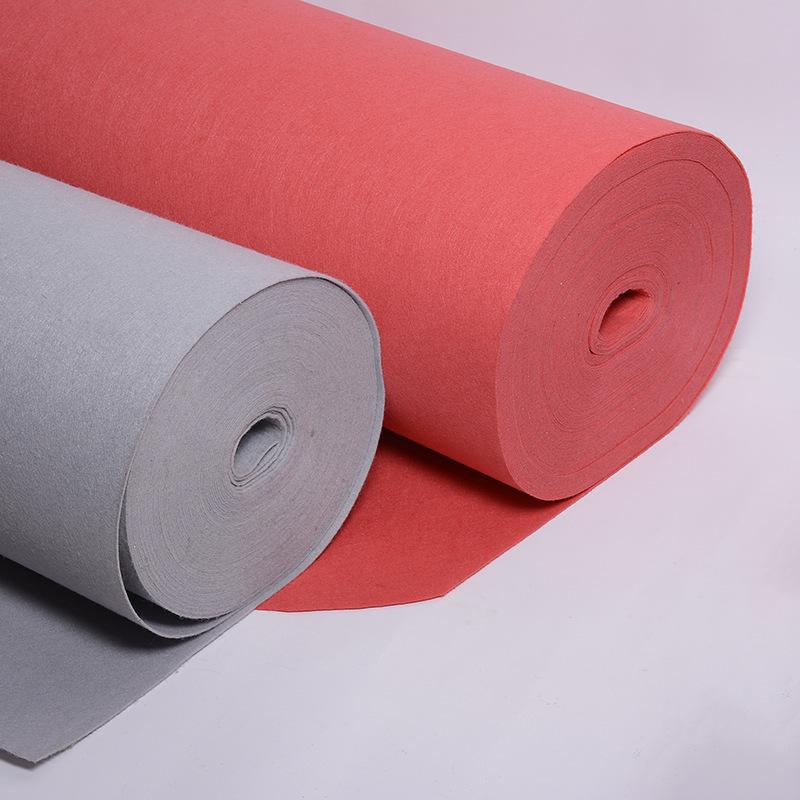 Nhà máy trực tiếp 1 MÉT màu sợi hóa học cảm thấy vải thân thiện với Môi Trường kim đấm vải không dệt