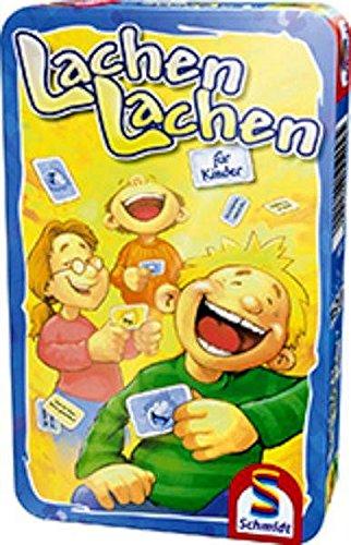 Schmidt Spiele - nụ cười, thích hợp cho trẻ em, lon kim loại