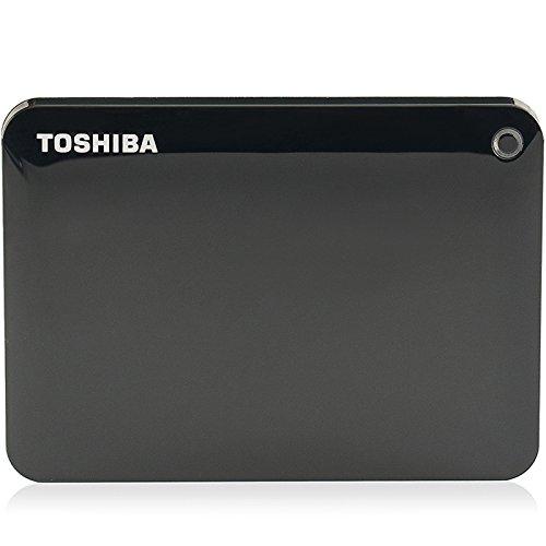 TOSHIBA Toshiba V8 CANVIO cao cấp chia sẻ loạt ổ cứng di động 2,5 inch (USB3.0) 1TB (màu đen cổ điển
