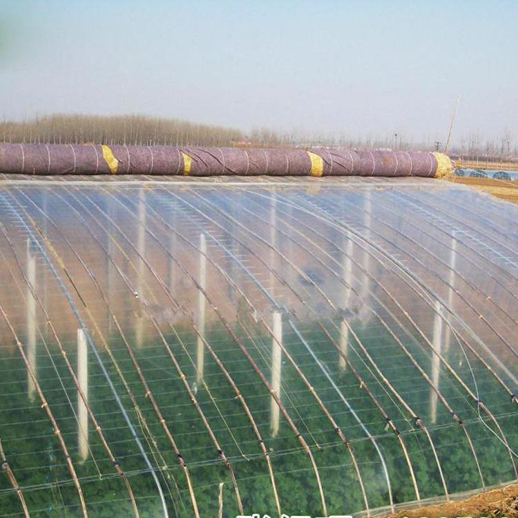 Nhà máy trực tiếp PO trong suốt nhựa nông nghiệp phim nhà kính nhà kính màng nhựa nhựa dày pha lê PO