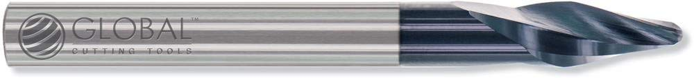 Công cụ cắt toàn cầu rcp-001 15.0 ° cacbua Runner CUTTER - 2 sáo X 1/8 inch TIP X 3 / 1.8 CM 0.32 cm