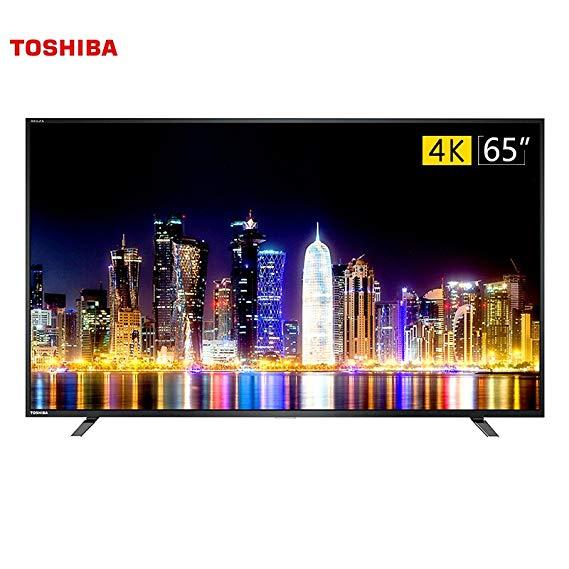 TOSHIBA Toshiba 65U67EBC 65 Inch 4K Ultra HD Thông minh Rocket Sounder Khung kim loại đầy đủ mỏng TV