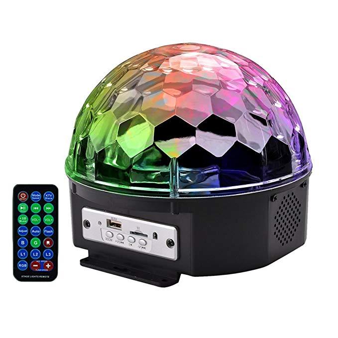 Boomer VIVI b55 Bluetooth Speaker 25.4 CM * Siêu LED strobe bulb đa màu đổi màu * ánh sáng sân khấu