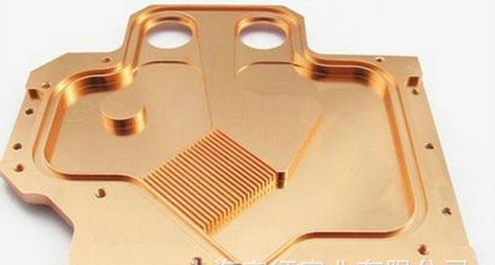 Thượng Hải nhôm tinh khiết xẻng răng răng cong tản nhiệt mới các máy móc công nghiệp năng lượng tỏa