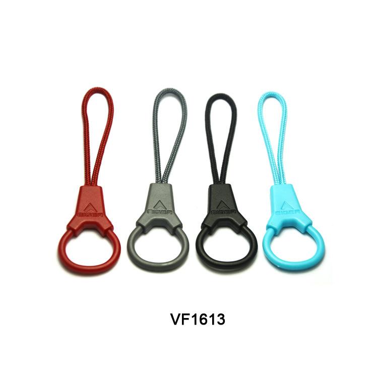 Nhà máy trực tiếp quần áo thể thao dây kéo đầu màu tiêm dây kéo đầu túi mặt dây chuyền tùy chỉnh pu