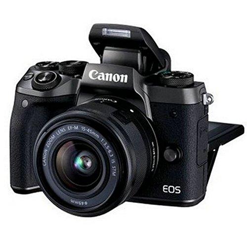 Canon Canon EOS M5 (15-45) Máy ảnh đơn vi Máy ảnh kỹ thuật số HD hẹn giờ với thẻ flash di 32SD + Ais