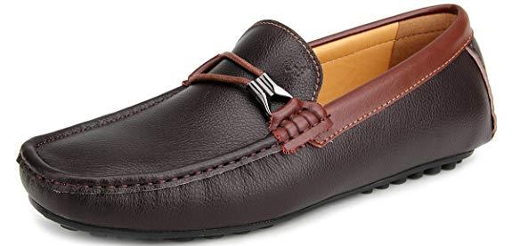 Giày mọi nam chất liệu da Ausland Wardfone