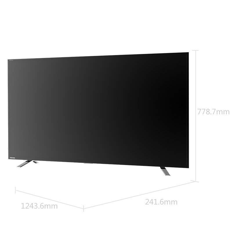 TOSHIBA Toshiba 55U6700C 55 inch 4K siêu độ nét cao HDRName Android TV thông Minh Vân