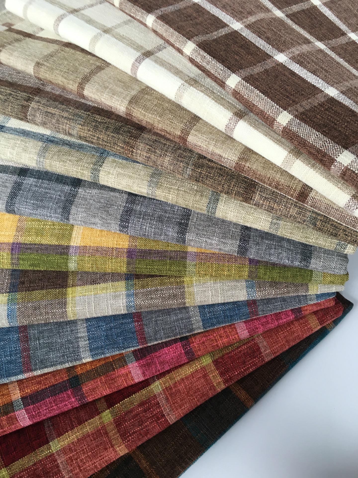 Cotton linen linen dày chịu mài mòn pha trộn linen sofa vải màu rắn sofa bìa gối bao gồm xe vải