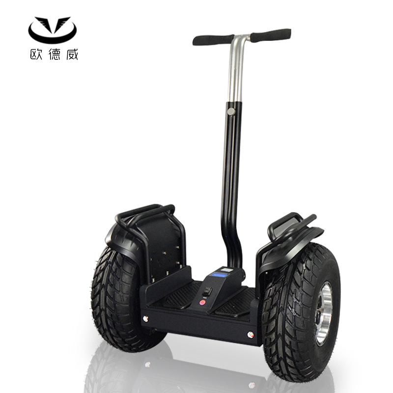 Xe điện cân bằng 2 bánh lớn điều khiển thông minh -19 inch  .