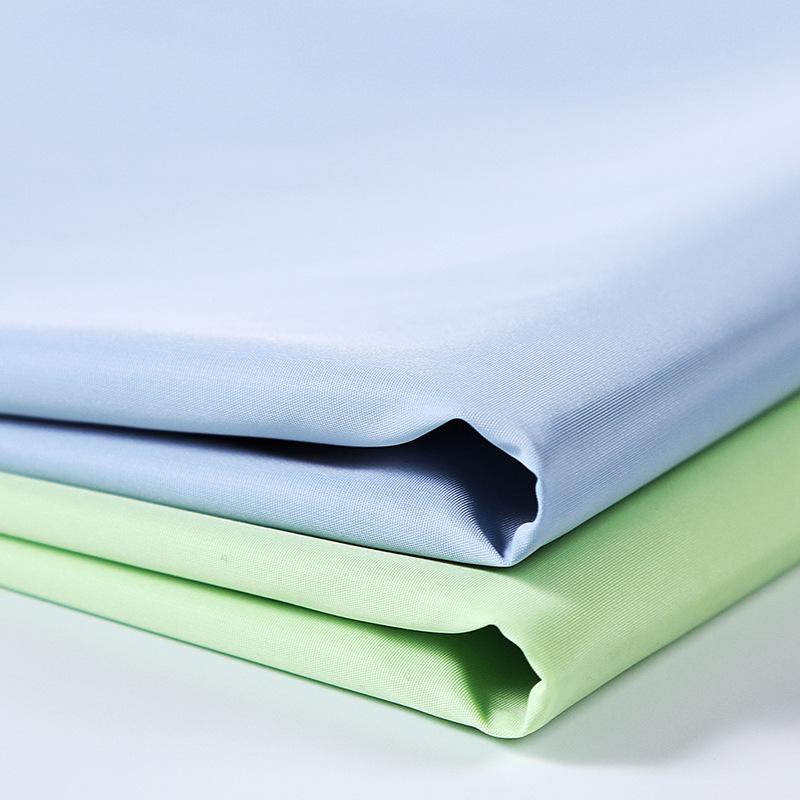 2018 xuống áo khoác bộ nhớ vải polyester vải cotton quần áo vải nhuộm chế biến off-the-shelf mẫu miễ