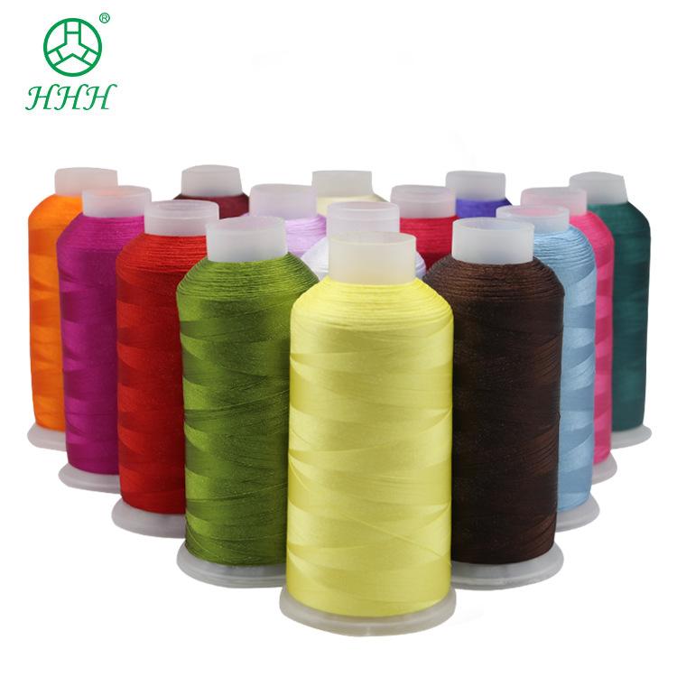 Kangfa nhà máy trực tiếp 120D2 polyester thêu chủ đề thân thiện với môi trường không có đường liên t