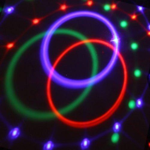 18W màu đỏ, màu xanh lá cây và màu xanh điều khiển từ xa hoặc hướng dẫn sử dụng mp3 tinh thể ma thuậ