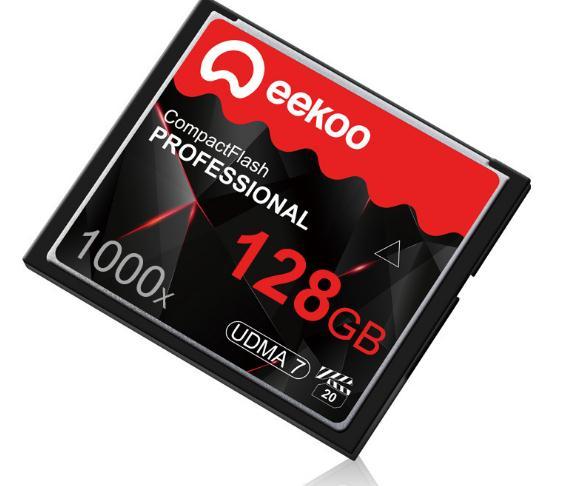 Được rồi... Eekoo mới ráp xong CF 128G 1000X bộ nhớ máy ảnh kỹ thuật số lưu trữ thẻ thẻ trên đường c