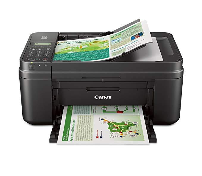 Máy in ảnh màu không dây PIXMA MX492 dòng sản phẩm văn phòng Canon với máy quét, máy photocopy và má