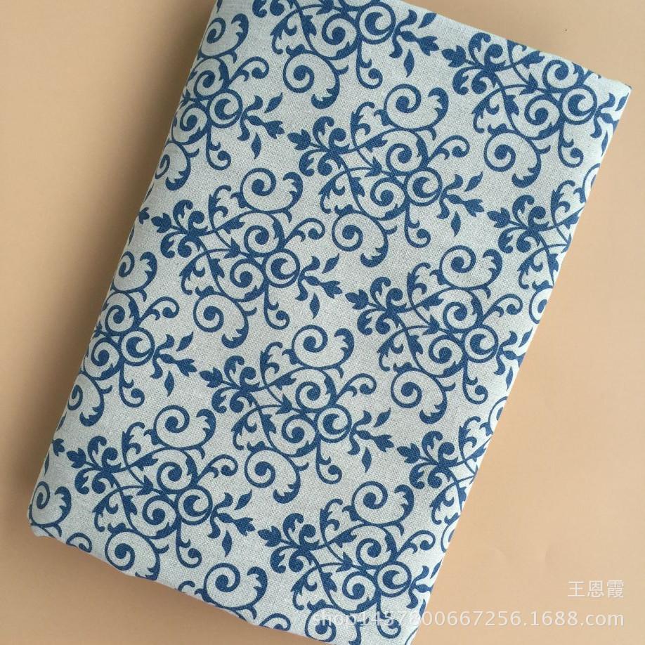 In ấn chuyên nghiệp và nhuộm Nhà Máy bán hàng trực tiếp linen vải màu xám in ấn thủ công nền vải ret