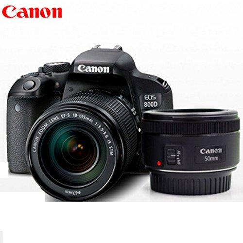 Canon EOS 800D SLR kit đi kèm với túi máy ảnh SLR Aisying + phim cường lực (800D (18-55 + 50F1.8))