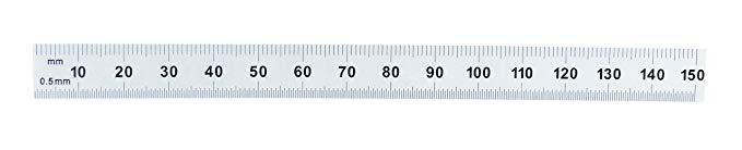 Công cụ chung Quy tắc thép không gỉ 150 mm chính xác 150 mm