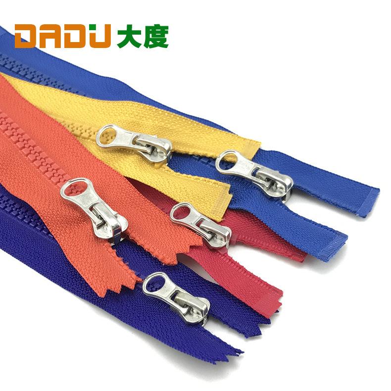 Bán buôn 5th nhựa dây kéo phụ kiện Quần Áo coat zipper Skirt bag dây kéo Tự khóa quần áo dây kéo