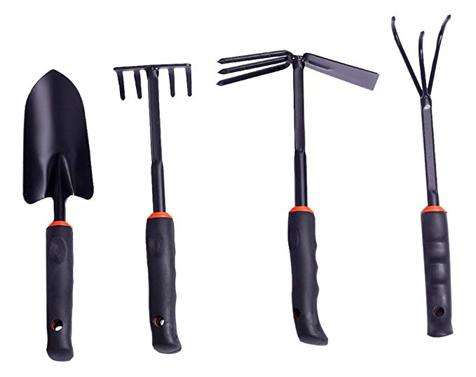 Dụng cụ làm vườn, xẻng rau, xẻng, cuốc, cuốc, dụng cụ nông nghiệp, dụng cụ làm ruộng, bốn mảnh