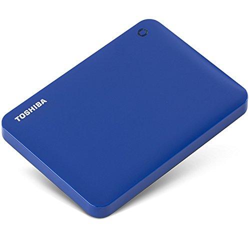 TOSHIBA Toshiba V8 CANVIO cao cấp chia sẻ loạt ổ cứng di động 2,5 inch (USB3.0) 1TB (màu xanh bí ẩn)