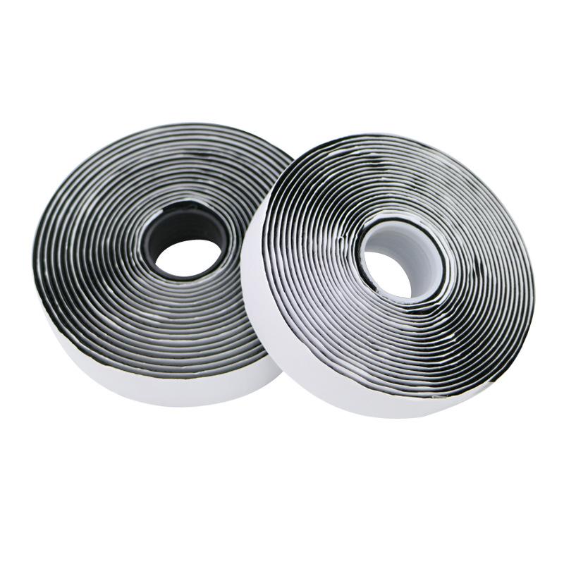 Nhà sản xuất cung cấp chất kết dính Velcro Nylon chất kết dính màu trắng Velcro Double-sided adhesiv