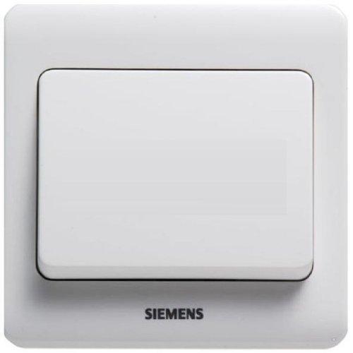 Bộ điều khiển đơn đơn SIEMENS Siemens Vision Series (Ya trắng) 5TA02011CC1