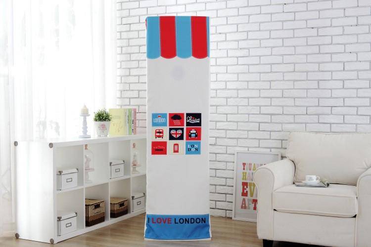 Nắp máy điều hòa trong phòng máy lạnh, Bích lập thức bảo vệ bộ đầy nhà chống bụi dạng tháp phổ biến