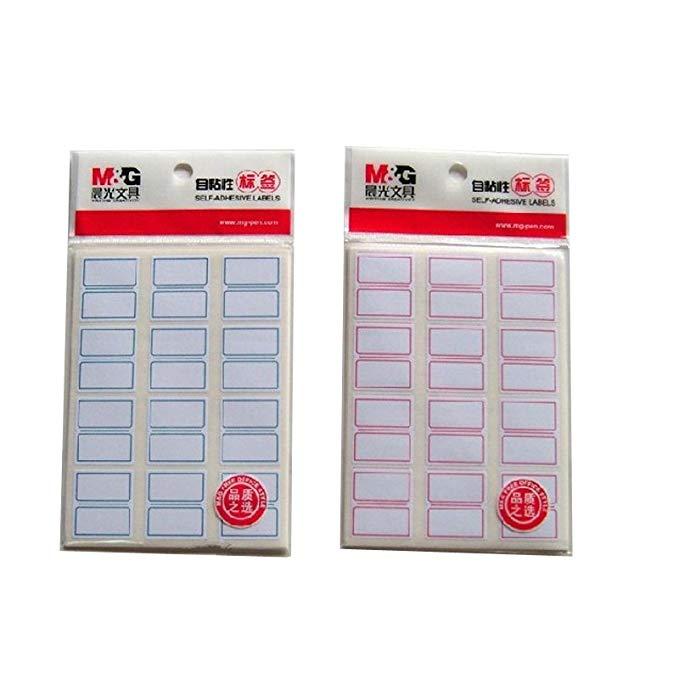 Buổi sáng Ánh Sáng Tự dính Nhãn Sticker Sticker Nhãn Giấy Chỉ Số Nhãn 24 mét * 27 mét 120 / gói (3 P