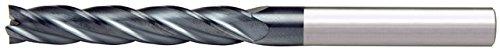 Alfa Công Cụ scl60651al 1/8 x 1/8 4 flute đầu duy nhất trung tâm cắt chiều dài altin carbide end mil