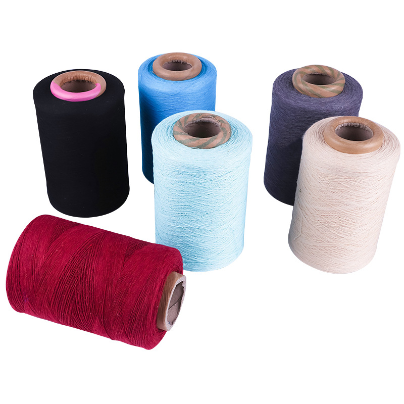 Nhà máy sản xuất trực tiếp 5 máy kéo sợi khí nén chải thô Đa sợi polyester bông dệt Sợi tái chế bông