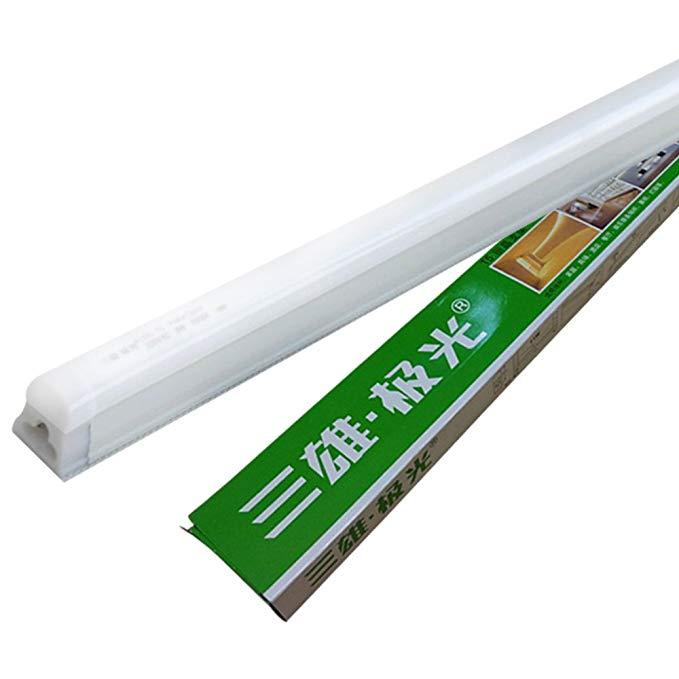 Sanxiong Aurora Lizhi ledt5 đèn huỳnh quang T5 khung đèn tích hợp ống LED full set (ánh sáng trắng,