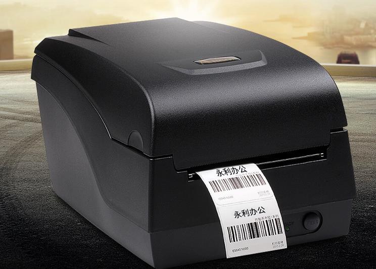 Lập tượng OX-100 máy in thẻ mang nhãn nước rửa giặt quần áo giặt ủi cắt dao
