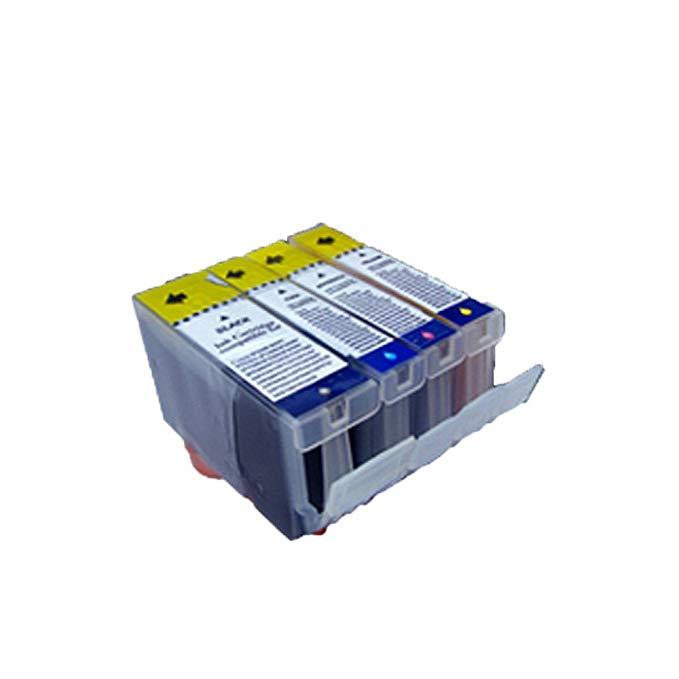 Bộ hộp mực in PGI-5BK CLI-8C / 8M / 8Y 4 màu (dành cho máy in Canon CANON IX4000 IX5000 iP3500 MX700