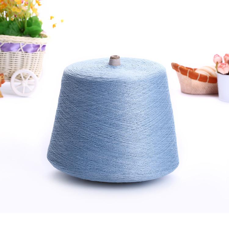 Bán buôn 24N tinh khiết lanh sợi tại chỗ đan mẫu miễn phí nhuộm