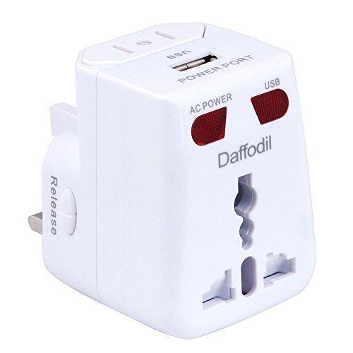Daffodil WAP150 USB Travel Power Converter Phổ Travel chuyển đổi ổ cắm đa chức năng cắm phổ chuyển đ