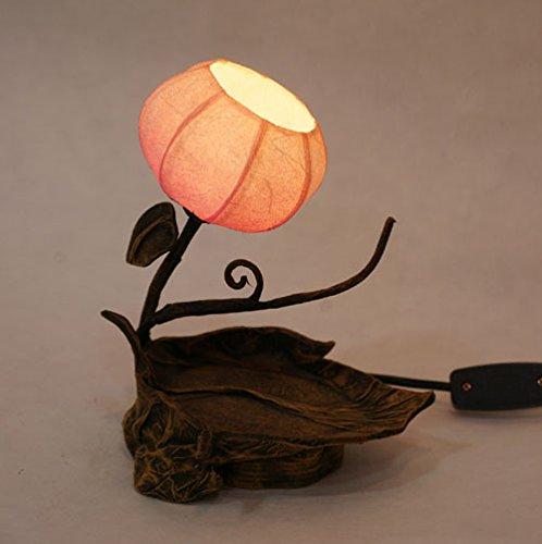 Antique Alive giấy lồng đèn Hàn Quốc handmade đích thực lá một phòng ngủ đèn