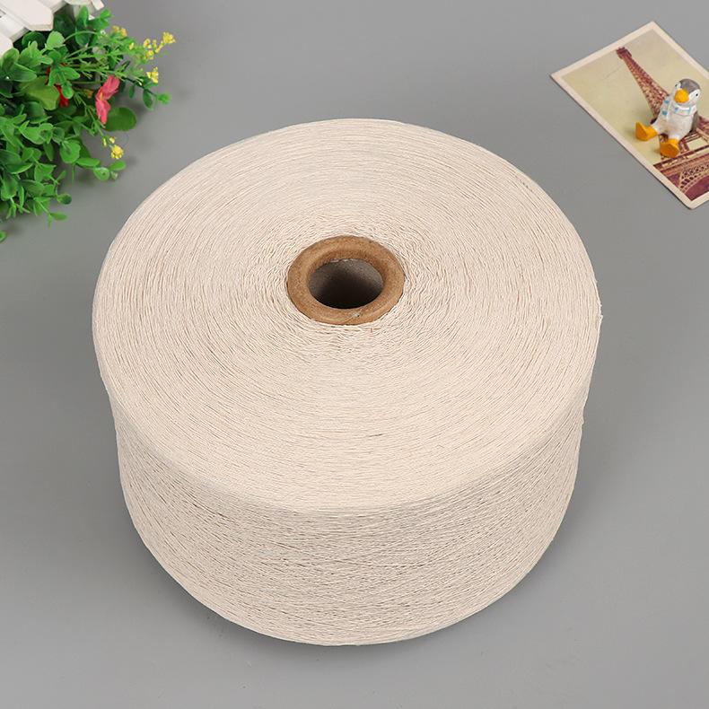 Sợi màu xanh lá cây sợi bông tái chế sợi bông sợi kéo Sợi chất lượng cao sợi kéo sợi dệt Sợi không k