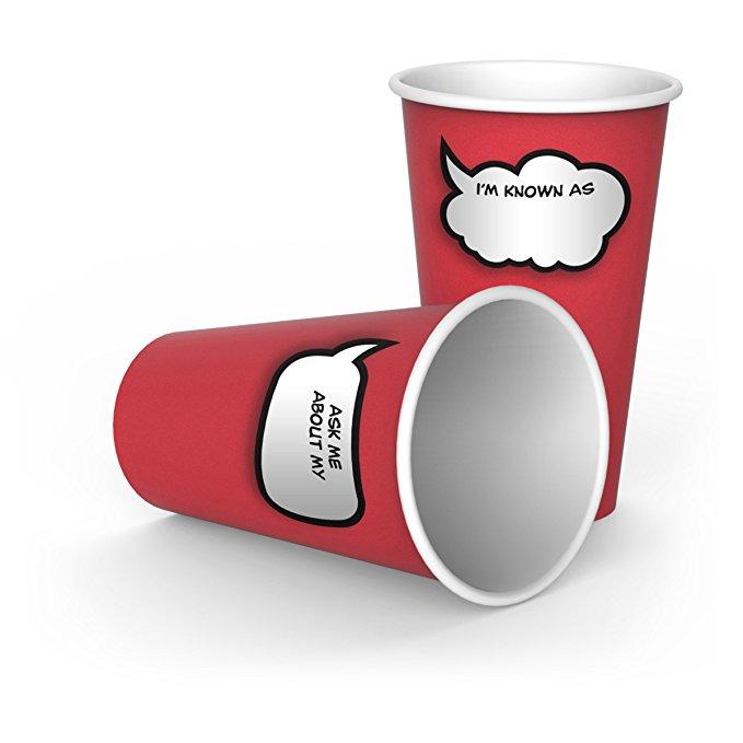 FRED & Friends chit chat Chén văn phòng Paper Cups
