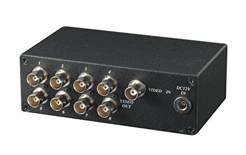 Đầu vào đầu ra 8 video phân phối sạc power adapter phụ kiện