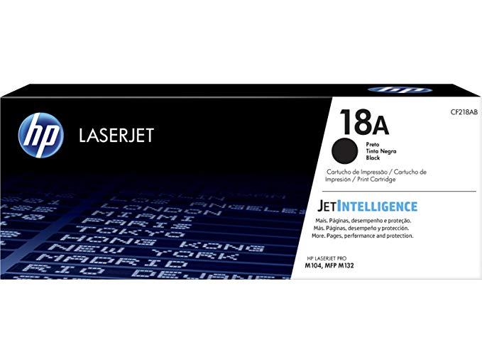 Hộp mực in màu HP HP CF218A 18A đen